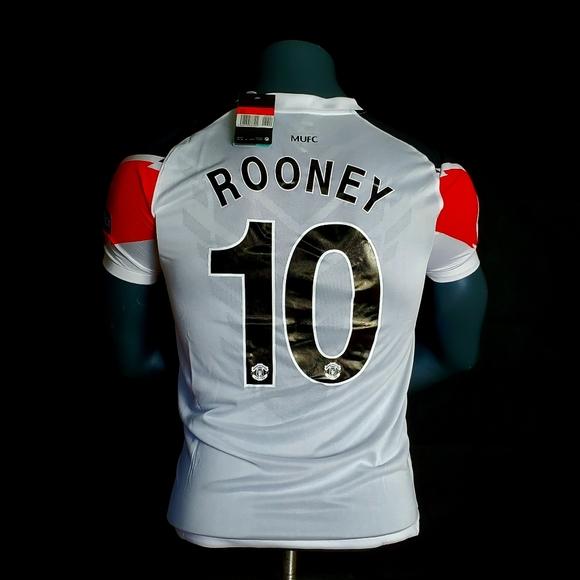 Wayne Rooney Manchester United Jersey 2011